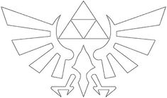 DIY Legend of Zelda Stencil
