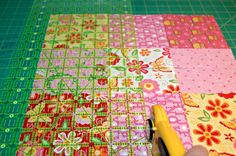 Disappearing Nine Patch Quilt Pattern - easy tutorial