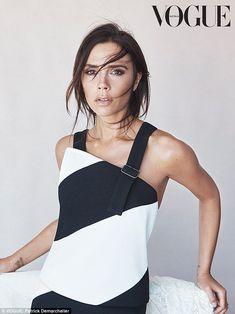 Victoria Beckham in her own design - Vogue Australia August 2015 Issue.
