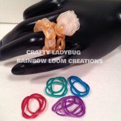 Wedding Series Diamond Engagement Ring Charm How To Rainbow Loom Crafty ...