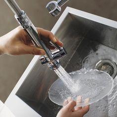 Vigo Two Handle Single Hole Pot Filler Kitchen Faucet Pot Filler, Handle, Kitchen Sinks, Faucets, Products, Taps, Griffins, Door Knob, Gadget