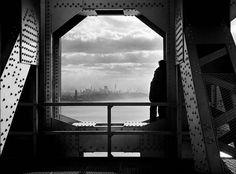View from George Washington Bridge, 1936  | Eugene de Salignac