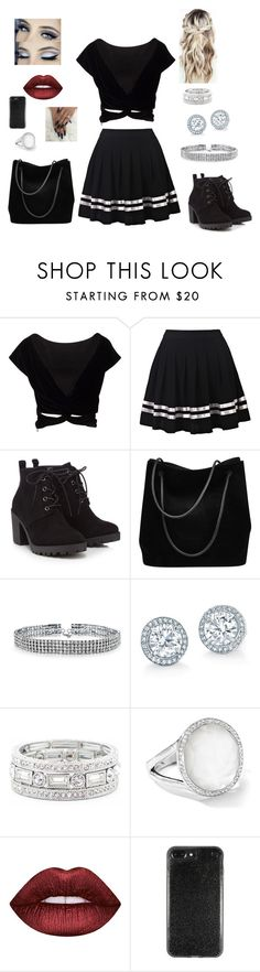 """""""Untitled #1109"""" by cutiepie92343 ❤ liked on Polyvore featuring Red Herring, Gucci, Bling Jewelry, Sole Society, Ippolita and Lime Crime"""