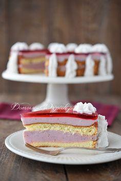 Tort truskawkowy bez laktozy i glutenu