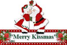Merry Kissmas kiss friend merry christmas santa graphic christmas quote christmas greeting merry kissmas