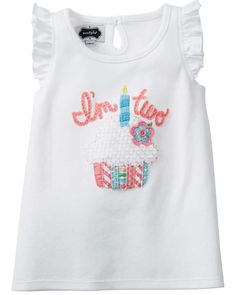 Oh to be young again Mud Pie I'm Two C...! Available now http://shopsweetassugar.com/products/mud-pie-im-two-cupcake-birthday-shirt?utm_campaign=social_autopilot&utm_source=pin&utm_medium=pin.
