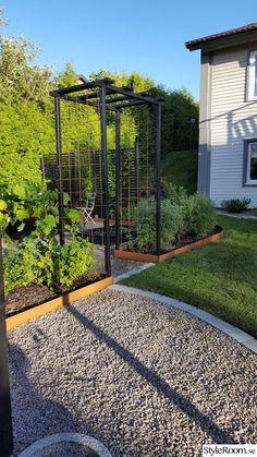 Potager Garden, Garden Trellis, Front Garden Landscape, Landscape Design, Back Gardens, Outdoor Gardens, Vegetable Garden Design, Dream Garden, Garden Inspiration