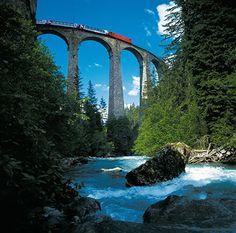 10 best train journeys: Bernina Express Switzerland-Italy http://www.guardian.co.uk/travel/gallery/2010/apr/29/best-train-journeys#