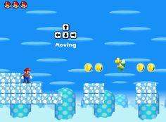 Juego Mario Magic World Un juego divertido con Mario Bros donde la plataforma es de hielo. ► http://www.ispajuegos.com/jugar8463-Mario-Magic-World.html