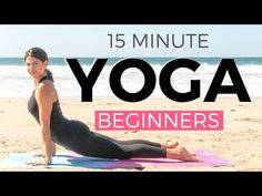 15 minute Morning Yoga for Beginners 🔥 WEIGHT LOSS edition 🔥 Beginners Yoga Workout Get on your mat for this simple 15 minute morning yoga for beginners WEIGHT LOSS edition for a fat burning beginners yoga workout to tone, strengthen … source 15 Minute Morning Yoga, Morning Yoga Flow, Morning Yoga Routine, Morning Workouts, Yoga Playlist, Yoga Youtube, Youtube Workout, Beginner Yoga Workout, Workout For Beginners