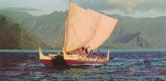 The Hokule'a is a modern, performance-accurate replica of a Polynesian voyaging canoe.  It has made numerous trips across the Pacific to prove ancient Polynesian navigation techniques.