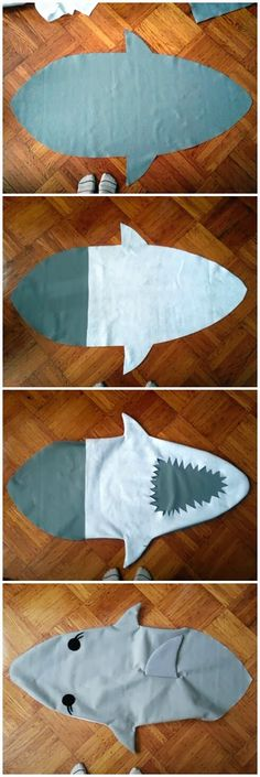 knitknitknits: DIY Sharknado Costume!