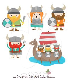clipart, viking