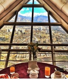 Tehran's view from Milad Tower  Iran