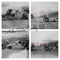 Model T Auto Polo Early 1900s Using Cars Instead Of Horses Man Cave Polo Club Sports Bar Crashed 4 Photographs Digital Download (405) - pinned by pin4etsy.com