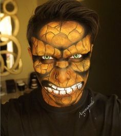 Makeup Artist Transforms People into Superheroes Straight Out of a ...