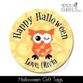 Halloween Gift Tags with Owls 8