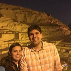 Restaurante dentro das ruínas de Huaca Pucllana em Lima no Peru. #peru #lima #huacapucllana #viagem #destinos #turismo