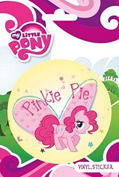 My Little Pony Sticker Adhesive Decal - Pinkie Pie x 4 inches) My Little Pony Stickers, Pinkie Pie, Nifty, Adhesive, Decals, Geek Stuff, Geek Gifts, Cartoon