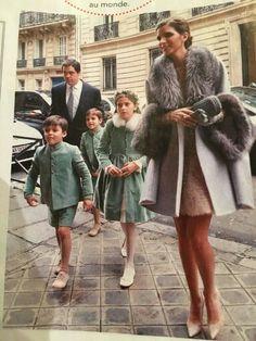 Eugénie, Louis et Alphonse de Bourbon #pointdevue http://www.cortegesdeGarance.com