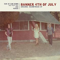wrote 2 new songs for this little Hallmark movie I was in, Banner 4th of July... check out the EP!