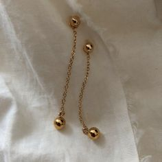 3b2d93177f9d Items similar to Dangle ball earring jacket
