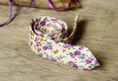 Hey, I found this really awesome Etsy listing at https://www.etsy.com/listing/207992282/floral-off-white-purple-tie-mens-skinny