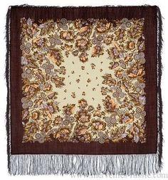 Châle Russe en laine Pavlov - Possad Cadeau Femme chale russe, foulard en laine Vintage World Maps, Rugs, Decor, Art, Headscarves, Wool, Farmhouse Rugs, Art Background, Decoration