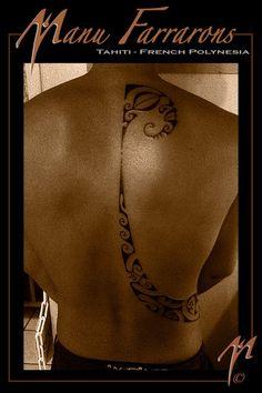 Mana´o tattoo