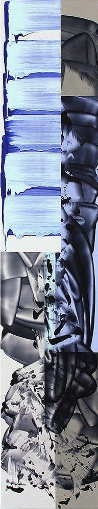 12 Painters: The Studio School, 1974/2014   Steven Kasher Gallery David Reed, Painting #606