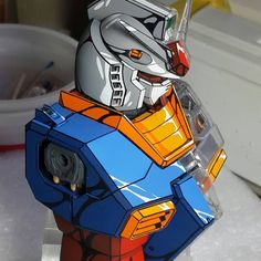 ( *`ω´) ιf you dᎾℕ't lιkє Ꮗhat you sєє❤, plєᎯsє bє kιnd Ꭿℕd just movє ᎯlᎾng. Gundam Head, Gundam Art, 3d Figures, Action Figures, Gundam Tutorial, Graffiti Pictures, Gundam Wallpapers, Gundam Mobile Suit, Mechanical Art