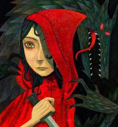 """""""Little Red Riding Hood"""" by Ken Wong"""