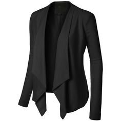 Blazer jacket ❤ liked on Polyvore featuring outerwear, jackets and blazer jacket
