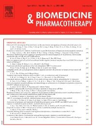 Biomedicine & pharmacotherapy [recurs electrònic]. New York, NY : Elsevier Science Pub. Co.,