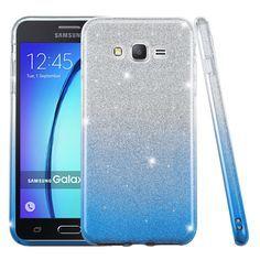 Samsung Galaxy On 5 / / Full Body Hybrid Glitter TPU Case Cover Gradient Purple Samsung J3, Samsung Cases, Iphone Cases, Samsung Grand, Girly Phone Cases, Galaxy Phone Cases, Phone Covers, Smartphone Deals, Flip Phones