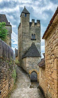 12 th Century Château de Beynac, France