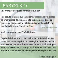 Babystep 1 - Sistema Flylady #babystep #babystep1 #flylady #organizacao #organize #vamosvoar House Cleaning Tips, Cleaning Hacks, Control Journal, Budgeting Money, Baby Steps, Clean House, 1, Organization, Instagram Posts