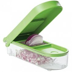 Prepworks by Progressive Onion Chopper Handmade Leather Wallet, Outlet, Egg Salad, Choppers, Stir Fry, Dice, Fried Rice, Onions, Chopper