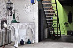 Elisée horse console by ibride #ibride #design #interior #decoration #animal #furniture #home #console www.ibride.fr