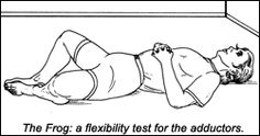 Frog Stretch for adductor HTN.
