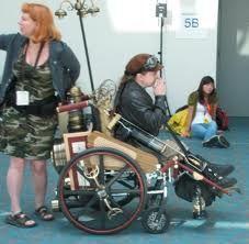 Steampunk Wheelchair