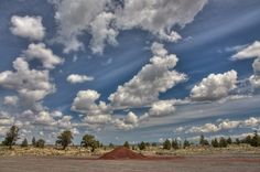 Clouds over Central Oregon