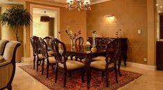 فضای مخصوص ناهار خوری International Real Estate, Dining Table, Furniture, Home Decor, Decoration Home, Room Decor, Dinner Table, Home Furnishings, Dining Room Table