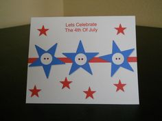 4th July Independence Day Homemade  Greeting Cards