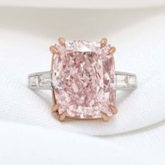 12.27 Carat Majestic Pink Diamond Goes on Sale for $7.85 Million - I'm not so partial to pink but this is a stunner, especially with the rose gold claw setting!