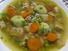 Soup Recipes, Cooking Recipes, Cheeseburger Chowder, Chana Masala, Bacon, Food And Drink, Chicken, Meat, Ethnic Recipes