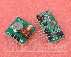 1pcs 433Mhz RF transmitter and receiver kit for Arduino project - 2$