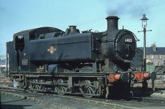 GWR/BR 9400 Class by Hawksworth at Swindon/Robert Stephenson/Yorkshire Engine Abandoned Train, Abandoned Cars, Diesel Locomotive, Steam Locomotive, Train Car, Train Tracks, Heritage Railway, Steam Railway, Train Times