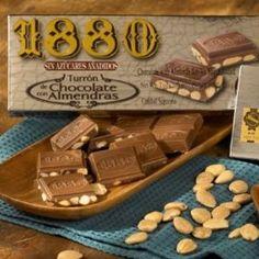 `1880` Sugar Free Chocolate Almond Turron Candy