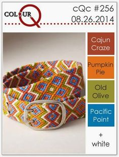 colourQ: colourQ challenge #256...Cajun Craze, Pumpkin Pie, Old Olive, Pacific Point